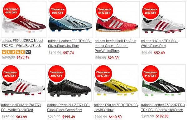 Huge SoccerLoco 48 Hour Adidas Sale