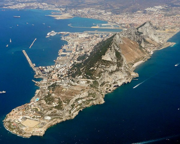 This IS Gibraltar, all of it, including a bit of Spain.
