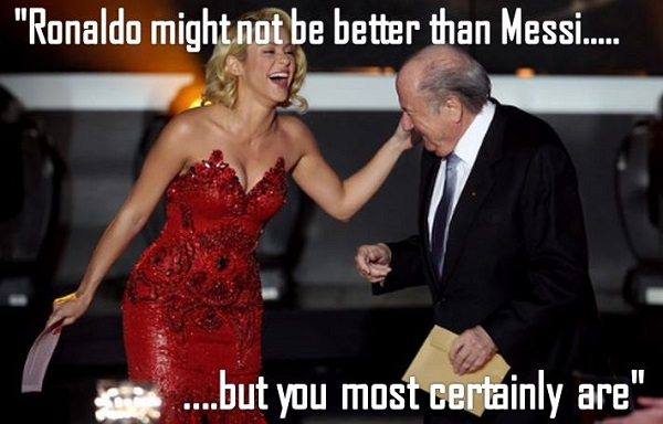 Thoughts of Sepp Blatter