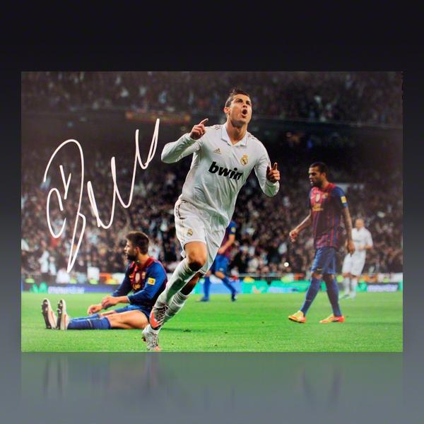 Cristiano Ronaldo Signed Gear