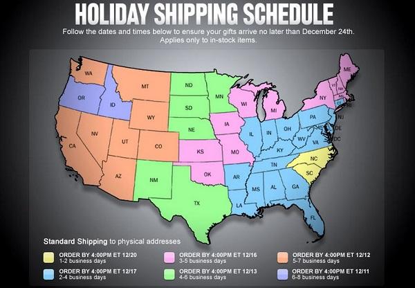 Holiday Shipping soccer
