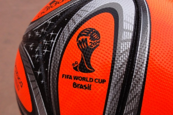 Brazuca Orange World Cup