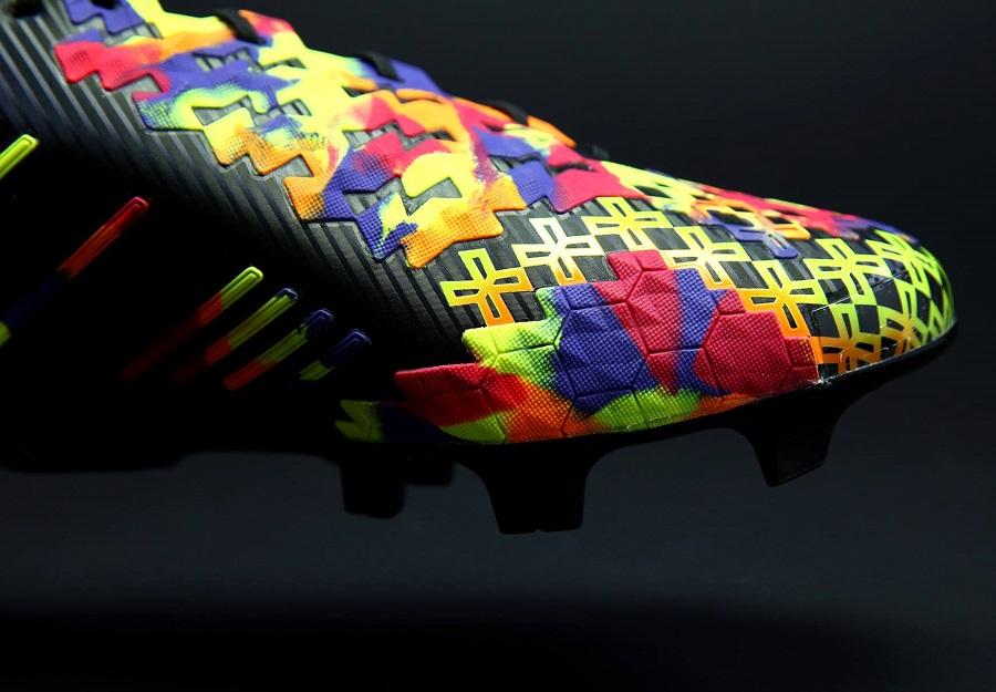 Adidas Predator Lz Sl Quot Black Rainbow Quot Edition Soccer