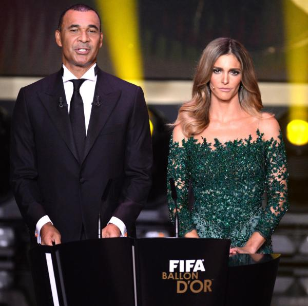 In an effort to make the Golden Ball awards unwatchable FIFA have hired these two to host in perpetuity.