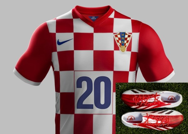 messi f50 older with croatian jersey