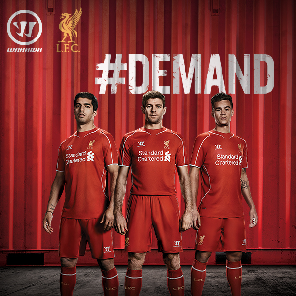 warrior demand home liverpool 2014/15