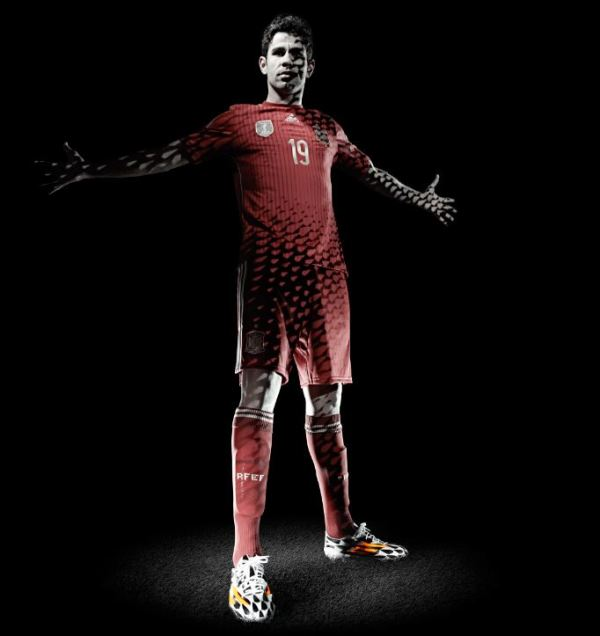 Costa Wears adidas adiZero F50