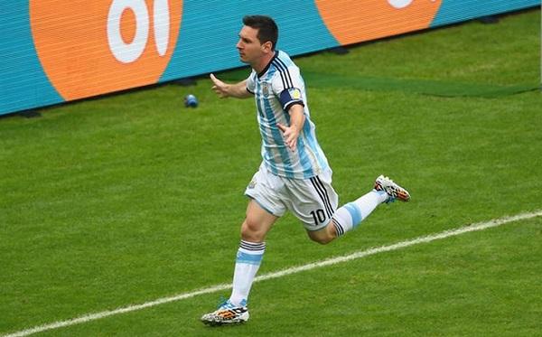 Messi Scores vs Nigeria