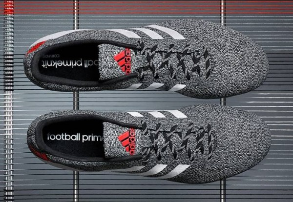 Adidas Primeknit FG in Black White