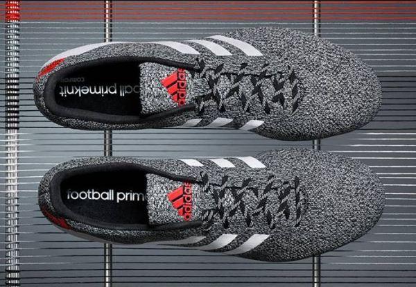 Adidas Primeknit FG in Black White