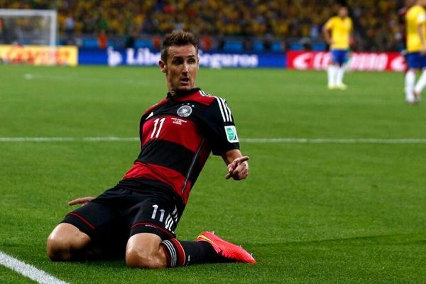 Klose Top World Cup Goal Scorer
