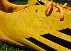 Messi adiZero f50 Upper Detailing (a)