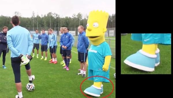 Bart Simpson Sky Blue Zenit Boots