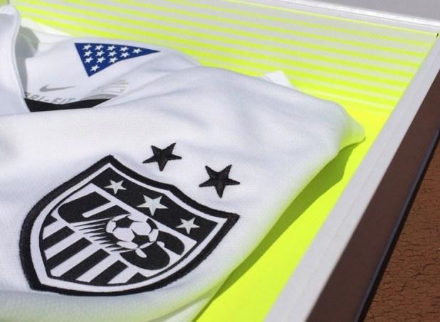 US Womens Kit 2015 Detailing