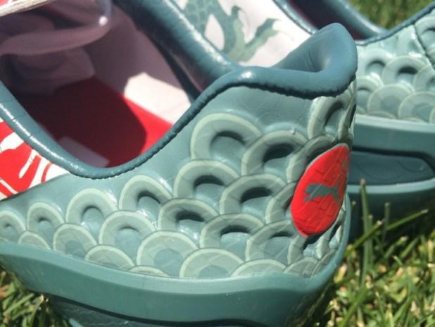 Puma evoSPEED 1.3 Dragon Textured Heel Definition