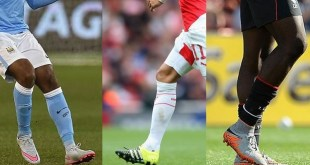 BPL soccer boots and players