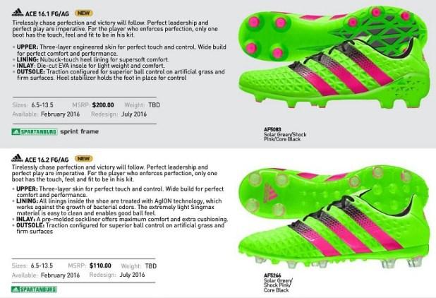 Adidas Ace16 FG AG