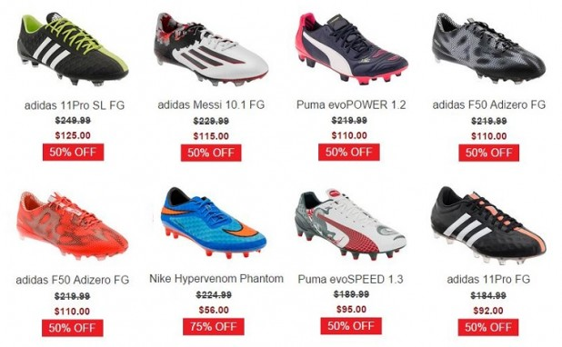WeGotSoccer Labor Day Sale Up to 75% Off All Sale Items