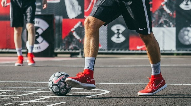 Nike Soccer at the COOP