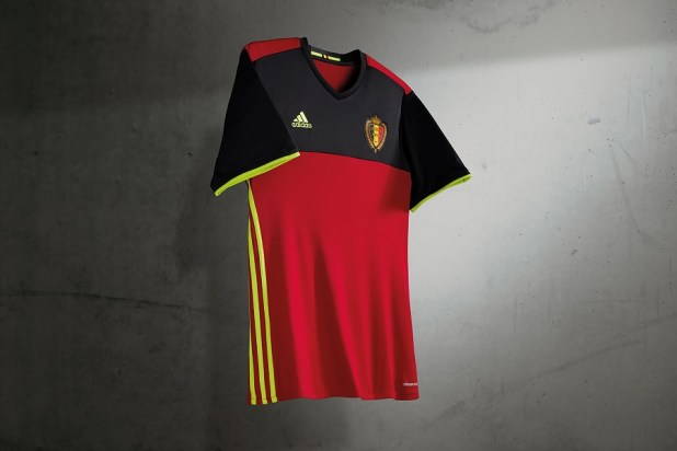 Belgium Euro 2016 Home Kit