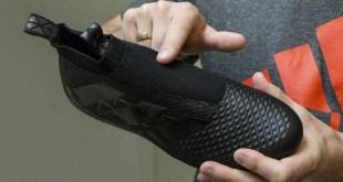 Blackout Adidas Laceless Boots