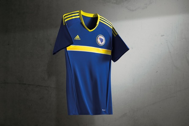 Bosnia Euro 2016 Home Kit