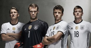 Germany Euro 2016 Home Kit