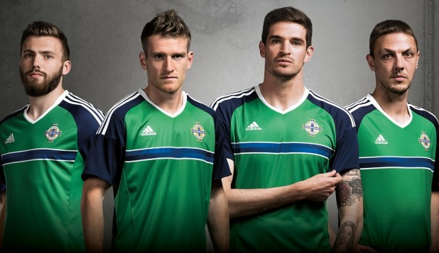 Northern Ireland Euro 2016 Home Jersey