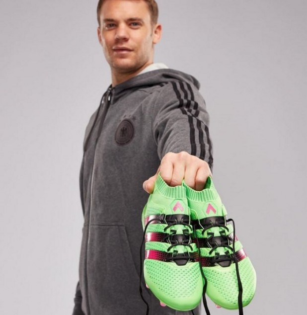 Neuer with Ace16