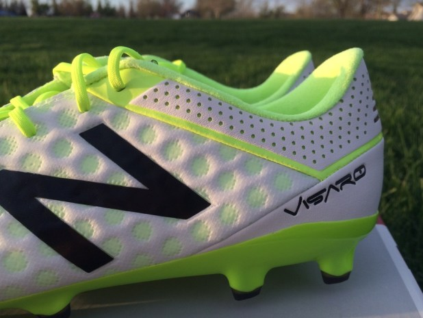 New Balance Visaro Pro Side Profile Toxic
