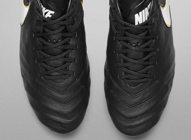 Nike Tiempo 6 Achromatic Leather Upper