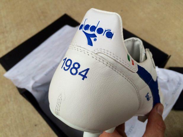 Diadora Brasil Italy 1984 Heel Detailing