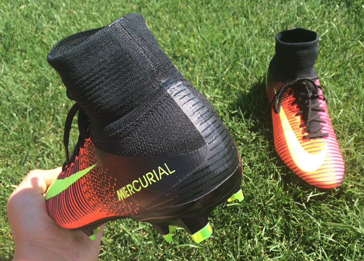 watch 6d802 48a4c Nike Mercurial Superfly V Heel