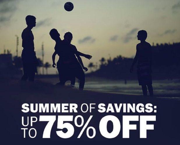Summer of Savings Sale