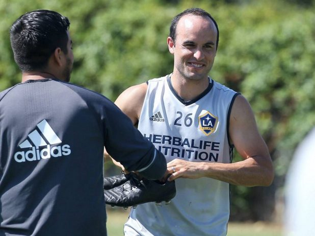 Landon Donovan in Blackout Boots