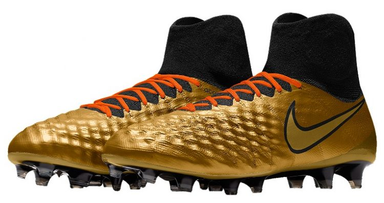 Nike Magista Obra II in Gold