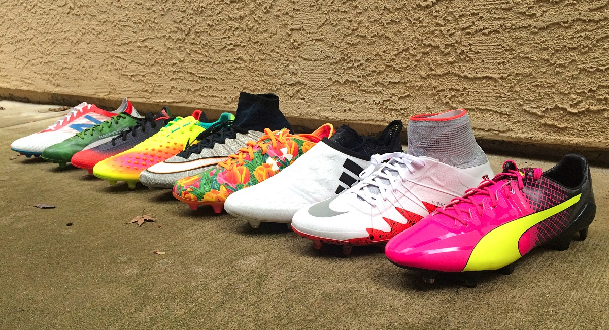 5f44b527d Why Are Soccer Boots So Colorful