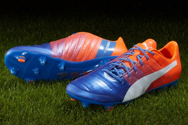Puma evoPOWER 1.3 Blue and Orange