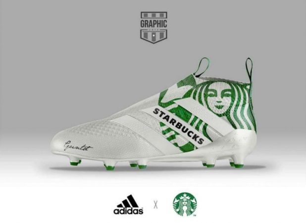 Adidas Purecontrol Starbucks
