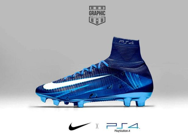 Nike Mercurial PS4