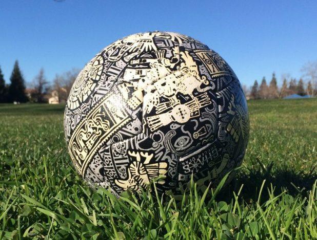 Chaos Soccer Aztec Ball