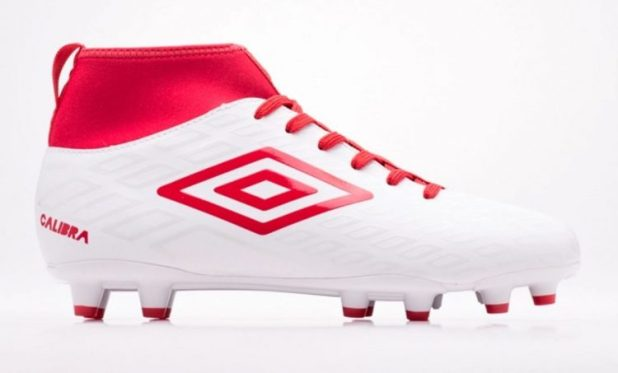 Umbro Calibra in White Red