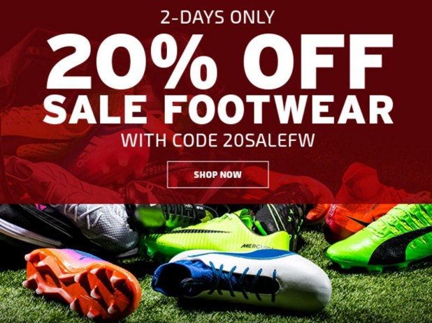 2 Day footwear Sale