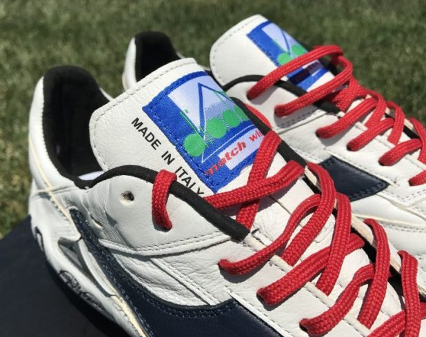 Diadora Match Winner RB Tongue Design
