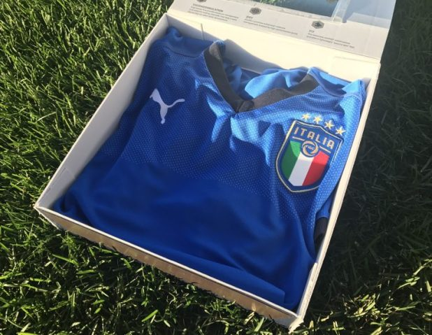 Italy Home Kit 2018 Unboxing