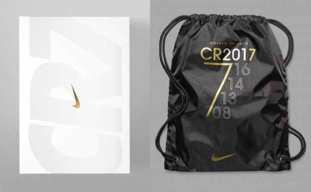 Mercurial Superfly CR7 Quinto Triunfo Box and Bag