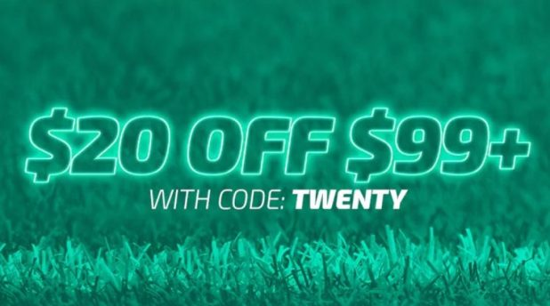 20% off weekender sale