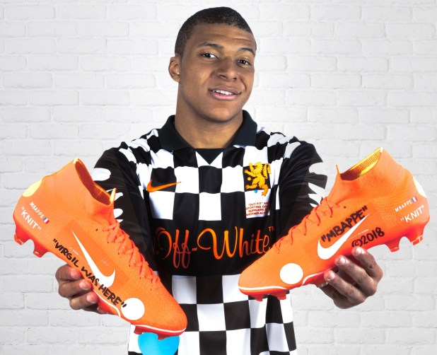 Mbappe Nike Mercurial Vapor360 x Virgil Abloh