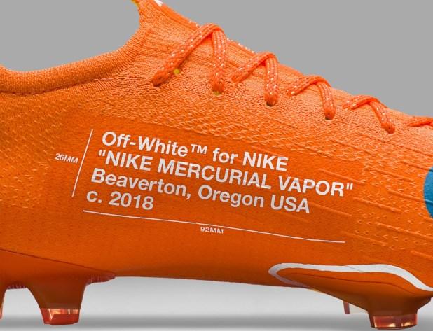 Nike Mercurial Vapor360 x Virgil Abloh Detailing