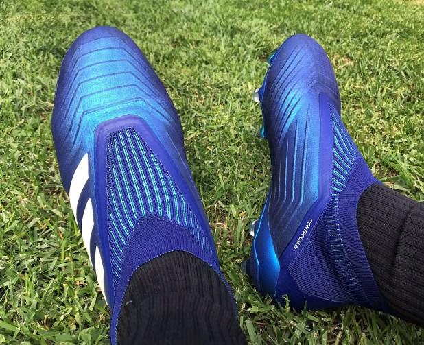 Predator 18+ Blue On Foot